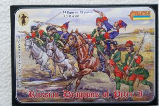 Strelets 1/72 ST0010 Russian Dragoons of Peter I (Great Northern War)